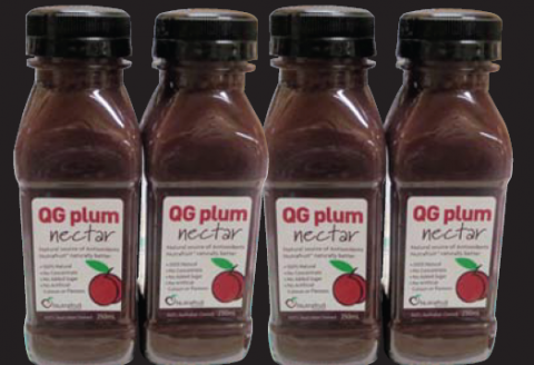 Queen Garnet Plum Nectar in store now!